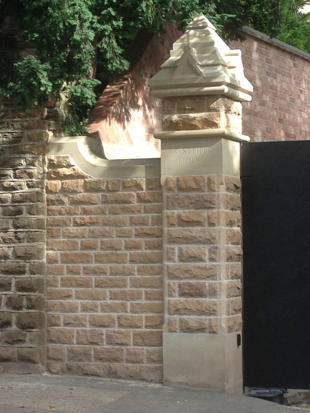 Pillar and cap