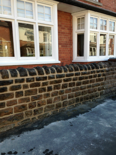 Sherwood Wall Repointed
