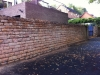 Bulwell Wall Before Pointing