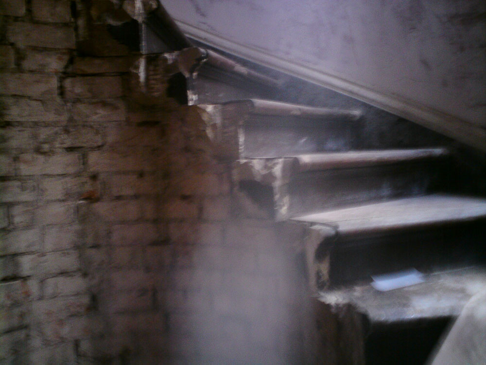 Overview of stair damage