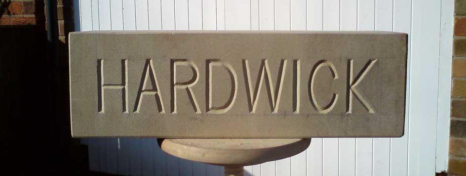 Hardwick Lettering